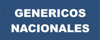 Genericos Nacionales